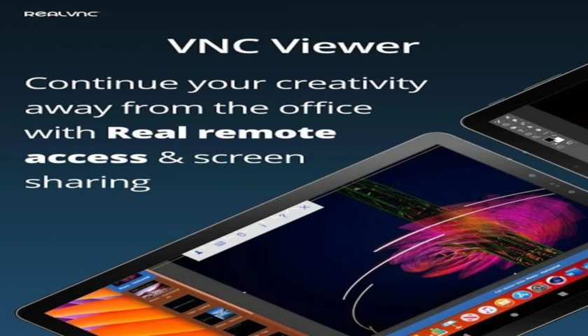 VNC viewer to control computer from phone