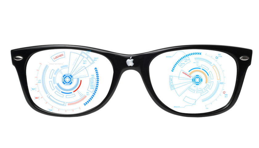 gestures control in apple ar glasses