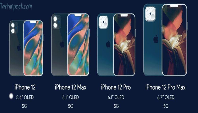 iPhone 12 sizes