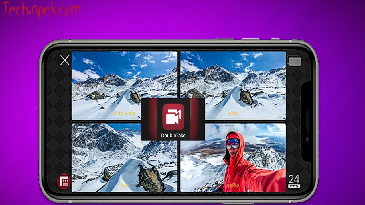 DoubleTake App to use multiple cameras simultaneously