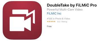 DoubleTake App by FilMic pro
