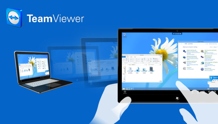 Team viewer to control computer from phone