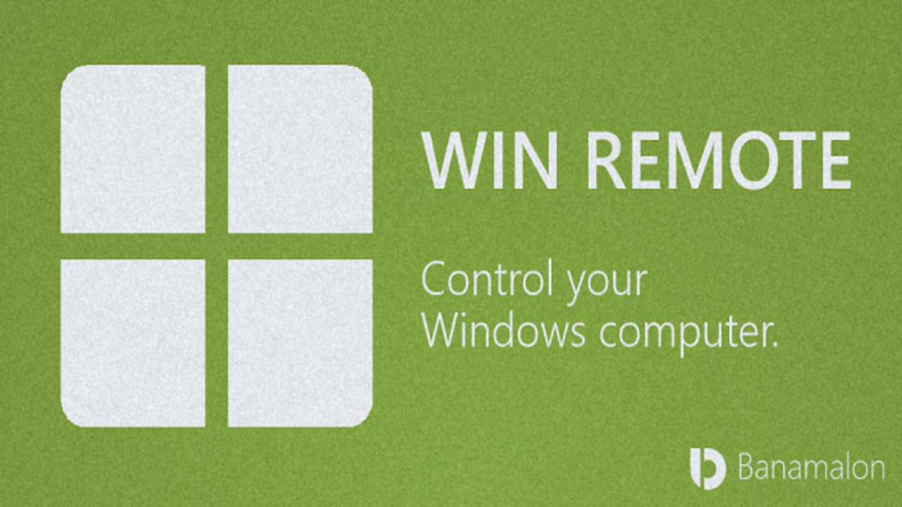 Win remote to control computer from phone