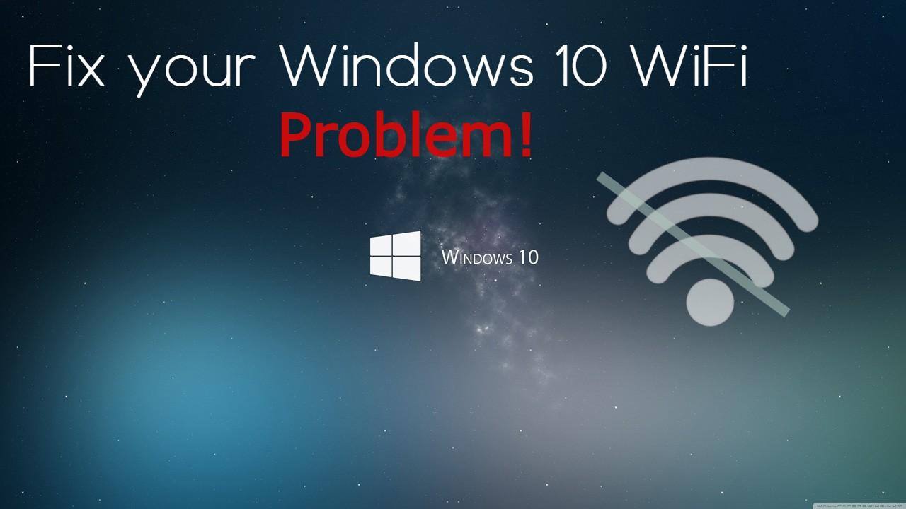 Windows 10 wifi keeps disconnecting.