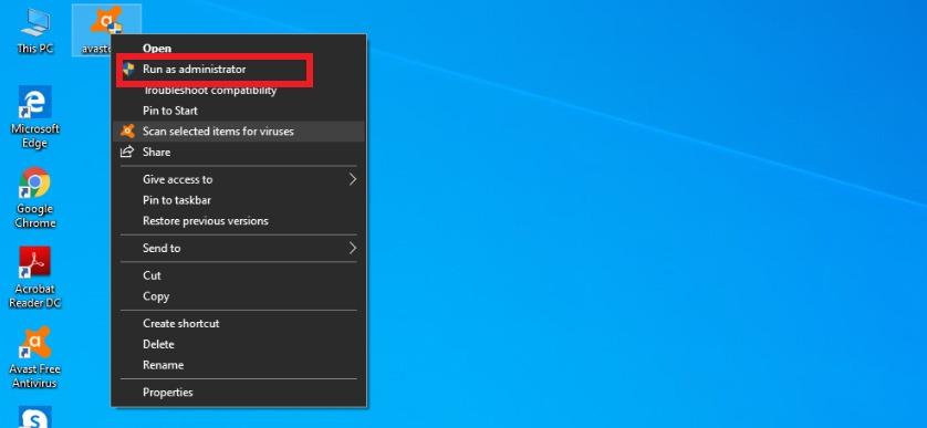 How to Delete Avast using Avast Uninstaller Utility