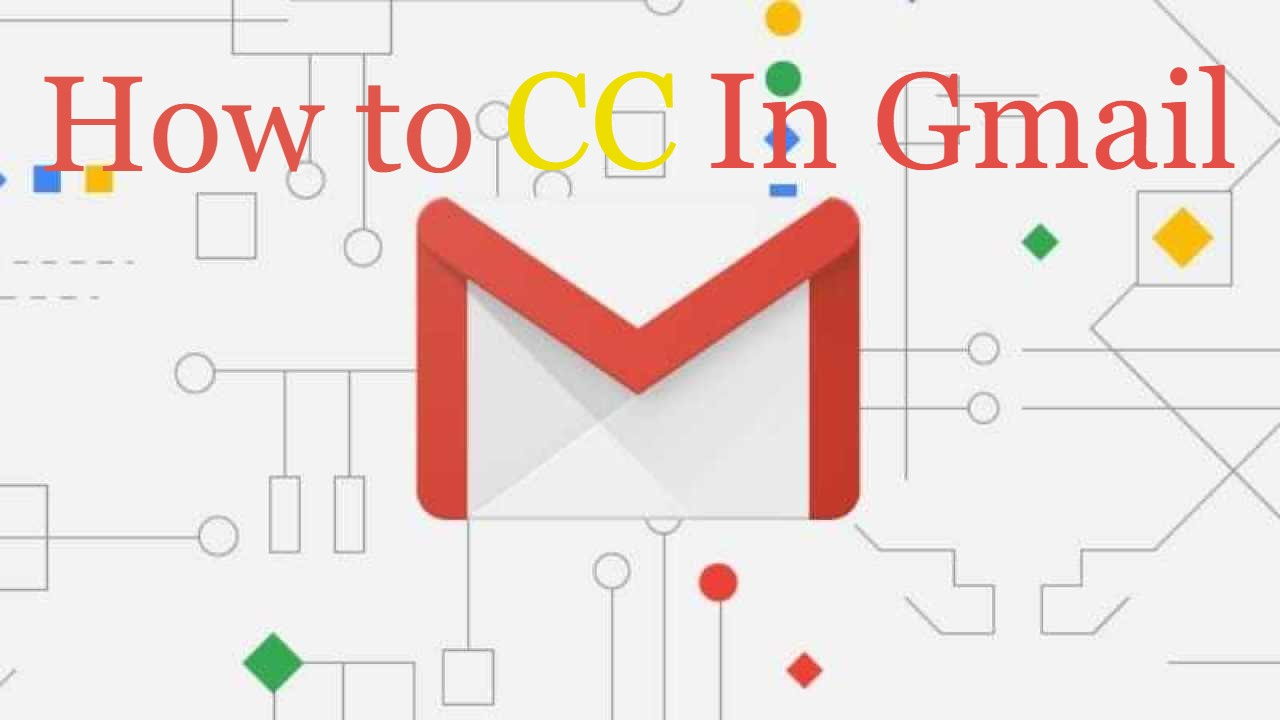How to Cc in gmail