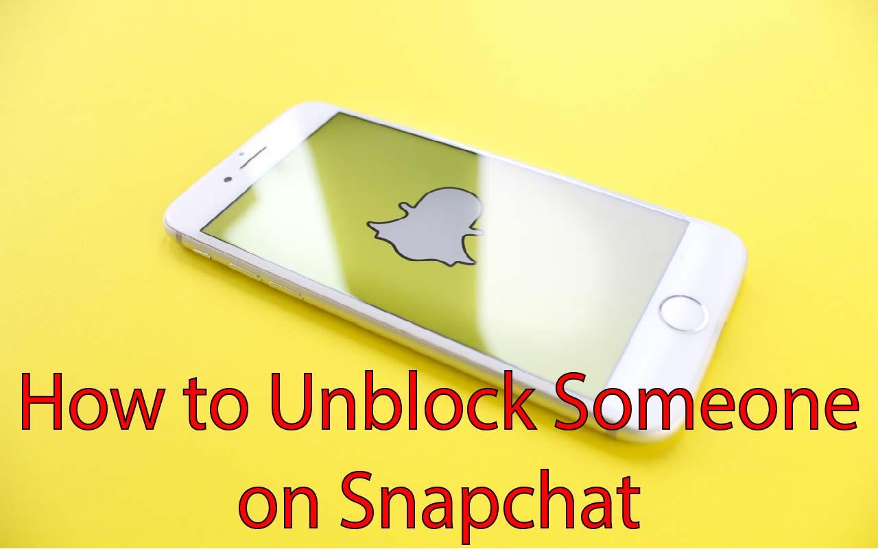 unblock on snapchat
